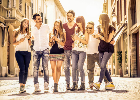 group-of-friends-meeting-in-the-city-center-shutterstock_285968882-2-585x418