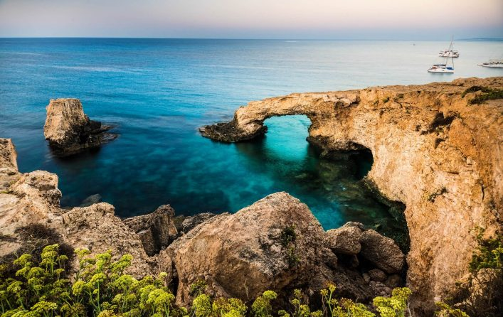 Beautiful-natural-rock-arch-of-Ayia-Napa-on-Cyprus-island-shutterstock_324412754-2