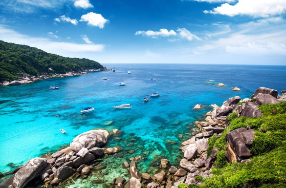 Similan islands. Thailand