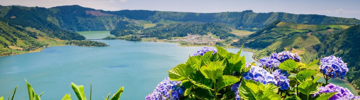 lake-of-sete-cidades-with-hortensias-azores-portugal-europe-shutterstock_254083369