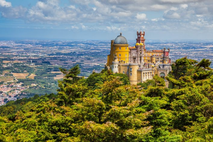 panorama-of-pena-national-palace-above-sintra-town-portugal-shutterstock_380587351-2
