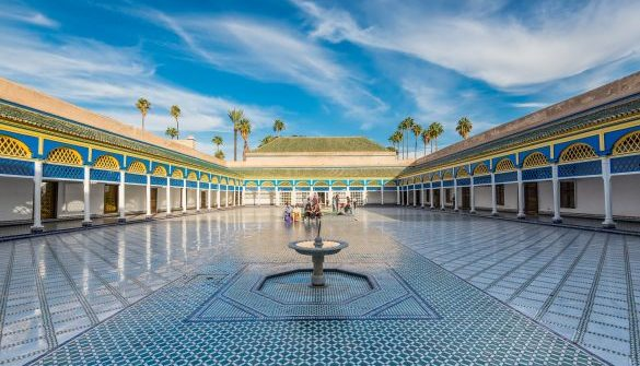 Beautiful-Bahia-palace-in-Marrakesh-Morocco_iStock-645161168_EDITORIAL-ONLY_vale_t-klein-585×390