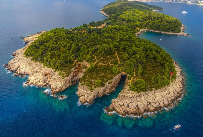 Lokrum Island and nature park near Dubrovnik, Croatia shutterstock_151602134
