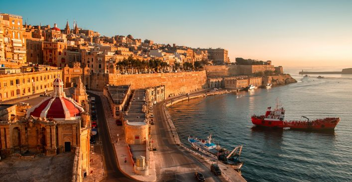 malta-coast-sunset-shutterstock_160904228