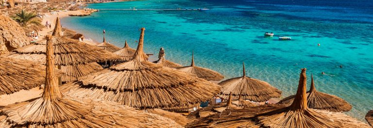 Red Sea coastline in Sharm El Sheikh, Egypt, Sinai shutterstock_251998573