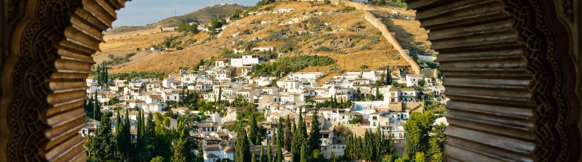 Albaicin, the Arabic district of Granada, Spain