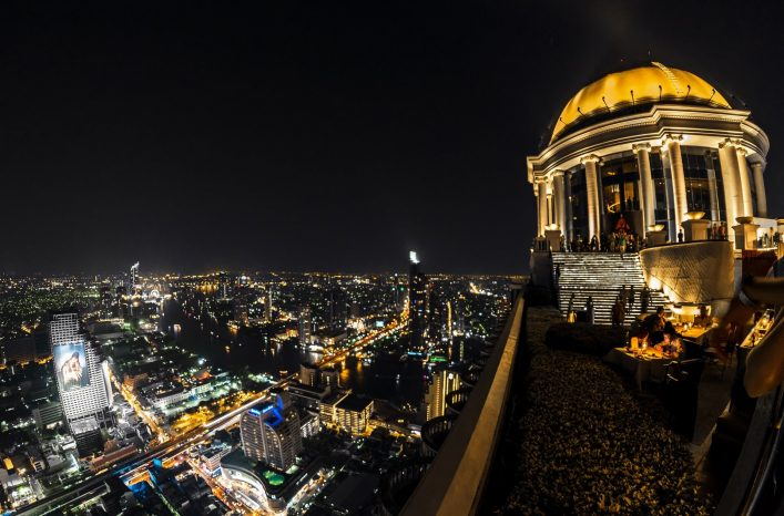 EDITORIAL-ONLY-fokke-baarssen.-Lebua-and-Sirocco-bar-at-State-Tower-in-Silom-district-at-night-shutterstock_643944754