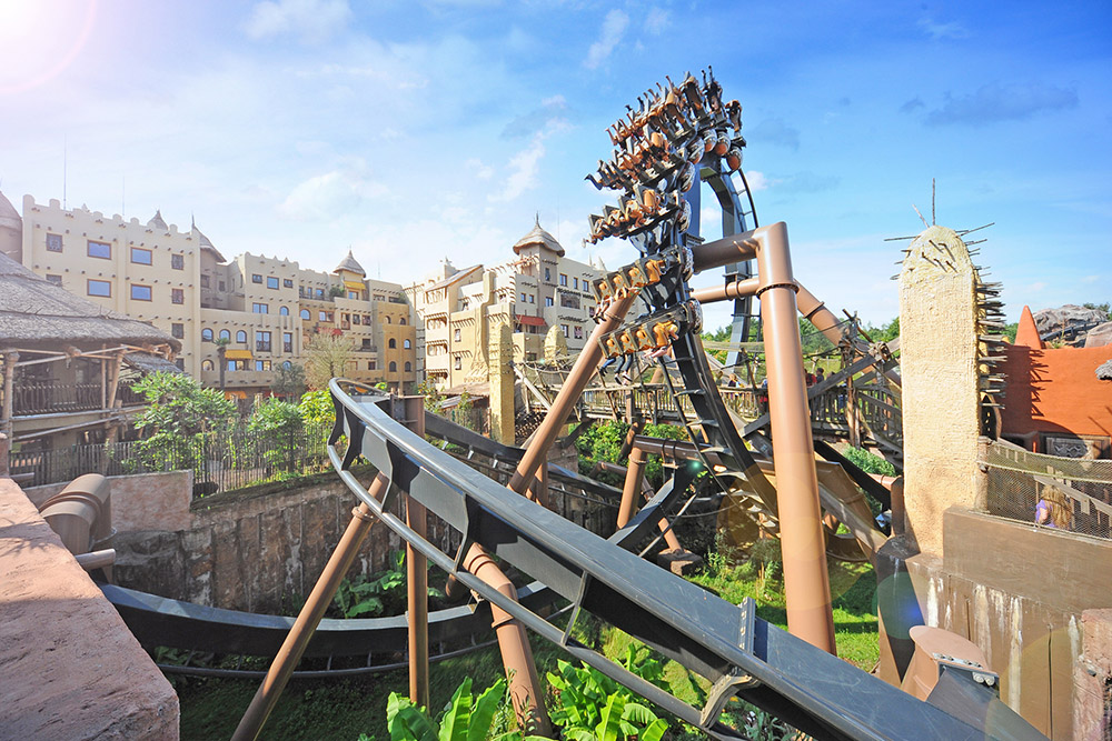 Phantasialand black Mamba