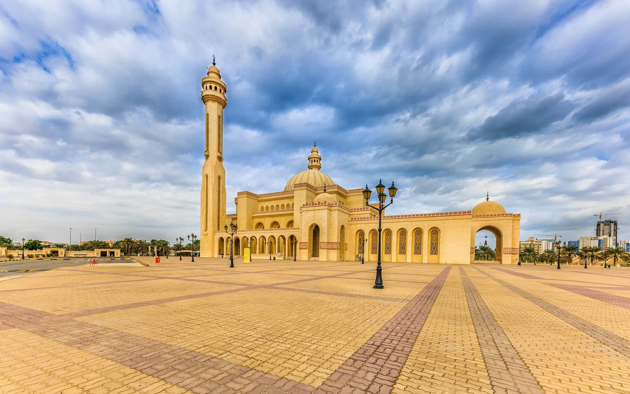 Das Ahmed Al Fateh Islamic Center mit der Al-Faith Mosque in Bahrain