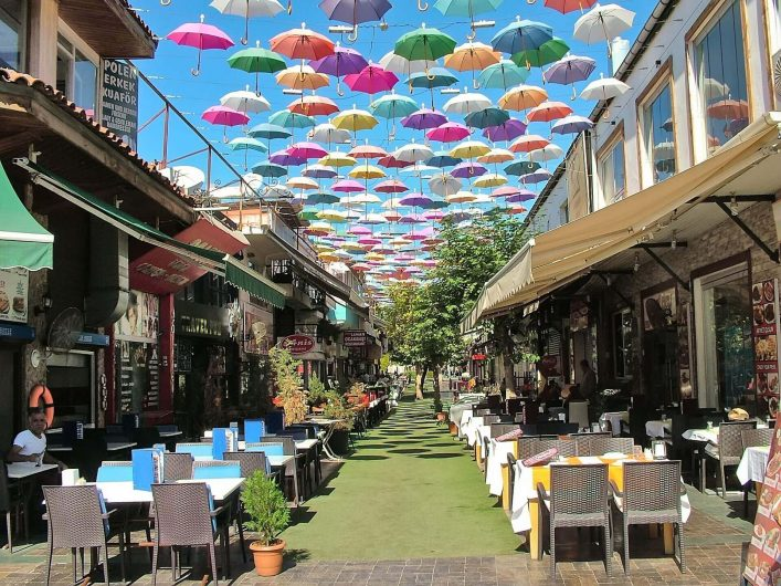 EDITORIAL-ONLY-engineervoshkin-Shutterstock.com-Street-umbrellas-with-lots-of-cafes-on-a-bright-sunny-day-shutterstock_758123026