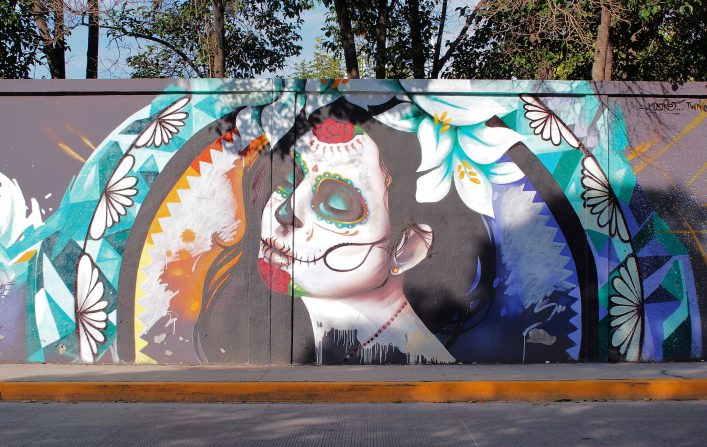 EDITORIAL-ONLY-Takamex.-Jose-Guadalupe-Posada-was-a-famous-political-printmaker-born-in-Aguascalientes-city.-This-graffiti-is-dedicated-to-his-work.-shutterstock_215680792