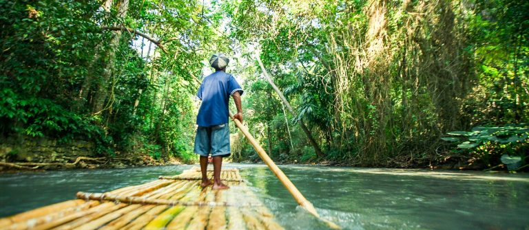 River-rafting-in-the-forests-of-jamaica-shutterstock_1136533652
