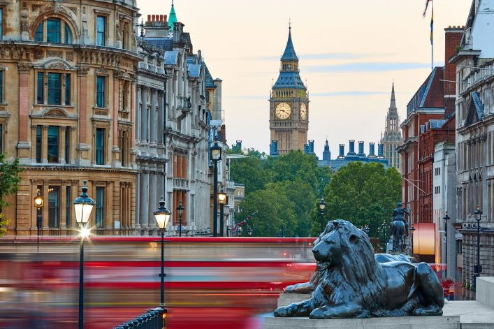 16.-London-Trafalgar-Square-lion-and-Big-Ben-tower-at-background_shutterstock_570380809