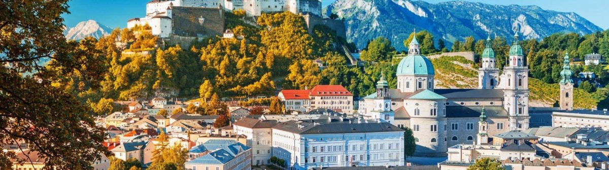 Beautiful-view-of-Salzburg-skyline-with-Festung-Hohensalzburg-and-Salzach-river-in-summer-Salzburg-Salzburger-Land-Austria_717298270