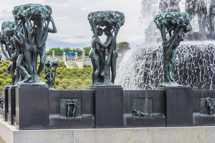 EDITORIAL-ONLY-Nadiia_foto-Shutterstock.com-Famous-Gustav-Vigeland-Sculpture-park-in-Oslo-Fountain-in-Vigeland-Park.-.-shutterstock_1034002060