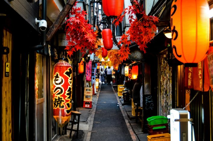 EDITORIAL-ONLY-Starcevic.-People-in-the-streets-of-Omoide-Yokocho-in-Shinjuku-Tokyo-Japan.-iStock-870292928