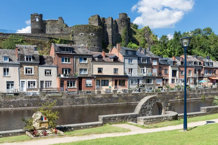Belgian-Ardennes-with-the-river-Ourthe-EDITORIAL-ONLY-kruwt-iStock-669716214