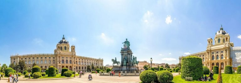 Maria-Theresia-Place-Wien-Vienna-Austria_shutterstock_390405718