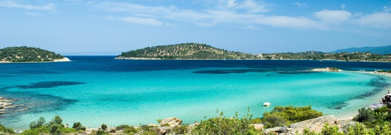 A very nice beach in Sithonia, Greece