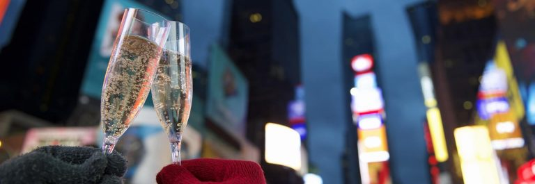 Happy-New-Year-champagne-at-Times-Square_New-York-City_shutterstock_240317197